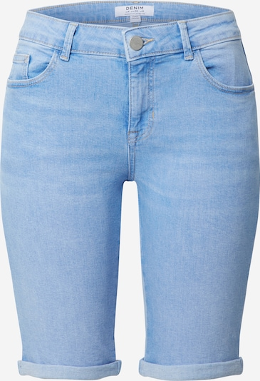 Dorothy Perkins Shorts 'Light Blue Denim Knee Short' in blue denim, Produktansicht