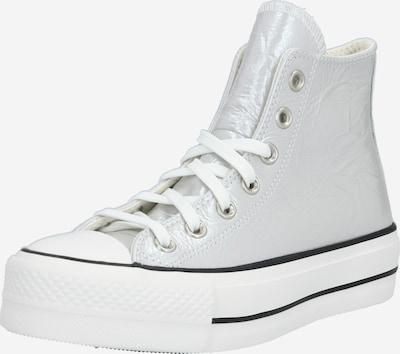CONVERSE Kõrged ketsid 'Chuck Taylor All Star Lift - Hi' hõbehall / must / valge, Tootevaade