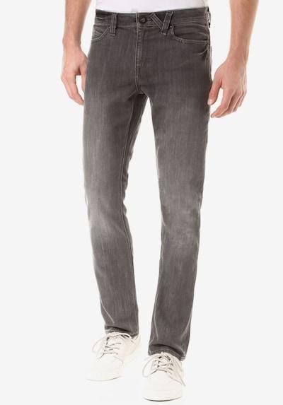 Volcom Jeans 'Solver' in grey denim, Modelansicht