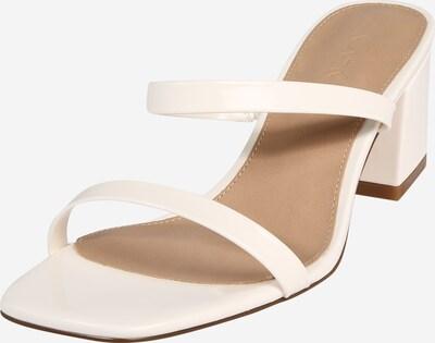 Sandale cu baretă 'squared two strap' NA-KD pe alb, Vizualizare produs