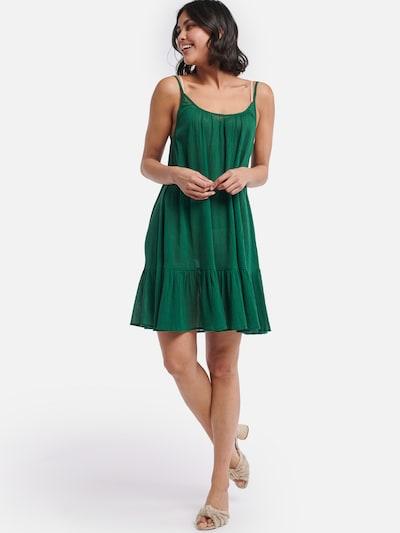 Shiwi Kleid in grün: Frontalansicht