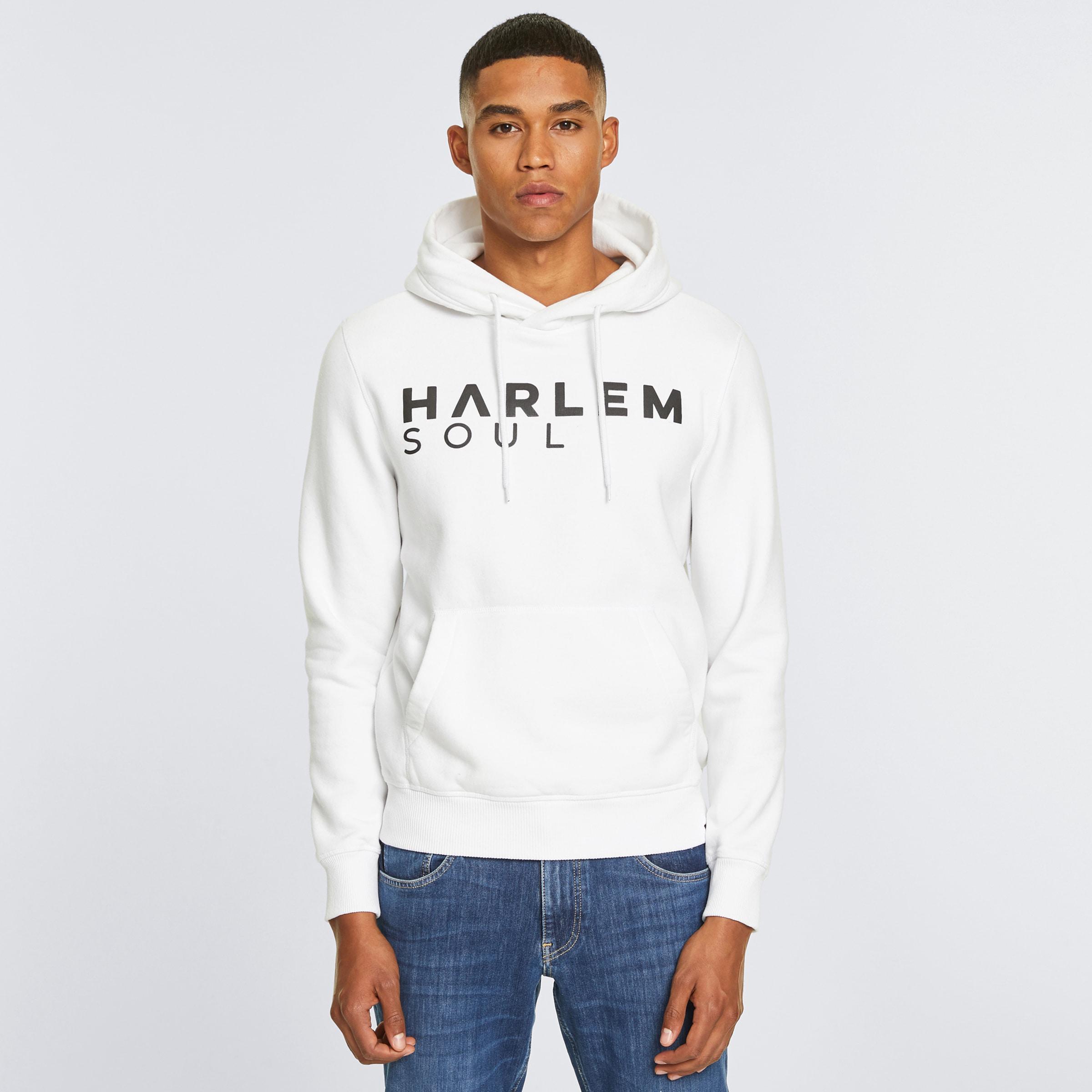 Harlem Soul Hoodie 'To-Kyo' in weiß Logoprint I00045244WHI0001L