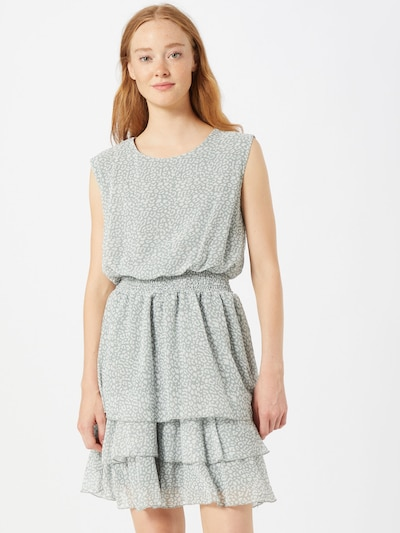 SISTERS POINT Kleid 'MICA' in grau / grün, Modelansicht