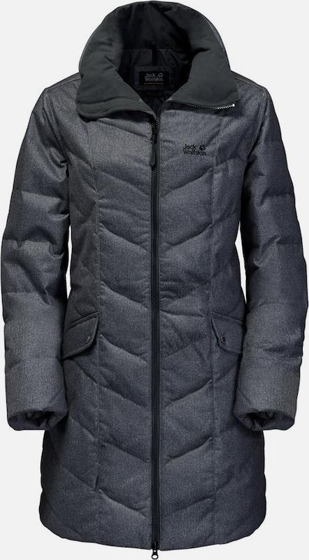 JACK WOLFSKIN Daunenjacke 'Baffin Bay' in anthrazit  Markenkleidung für Männer und Frauen