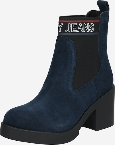 Tommy Jeans Stiefelette 'CORPORATE ELASTIC SUEDE BOOT' in dunkelblau, Produktansicht