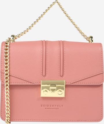 Seidenfelt Manufaktur Tasche 'ROROS' in Pink