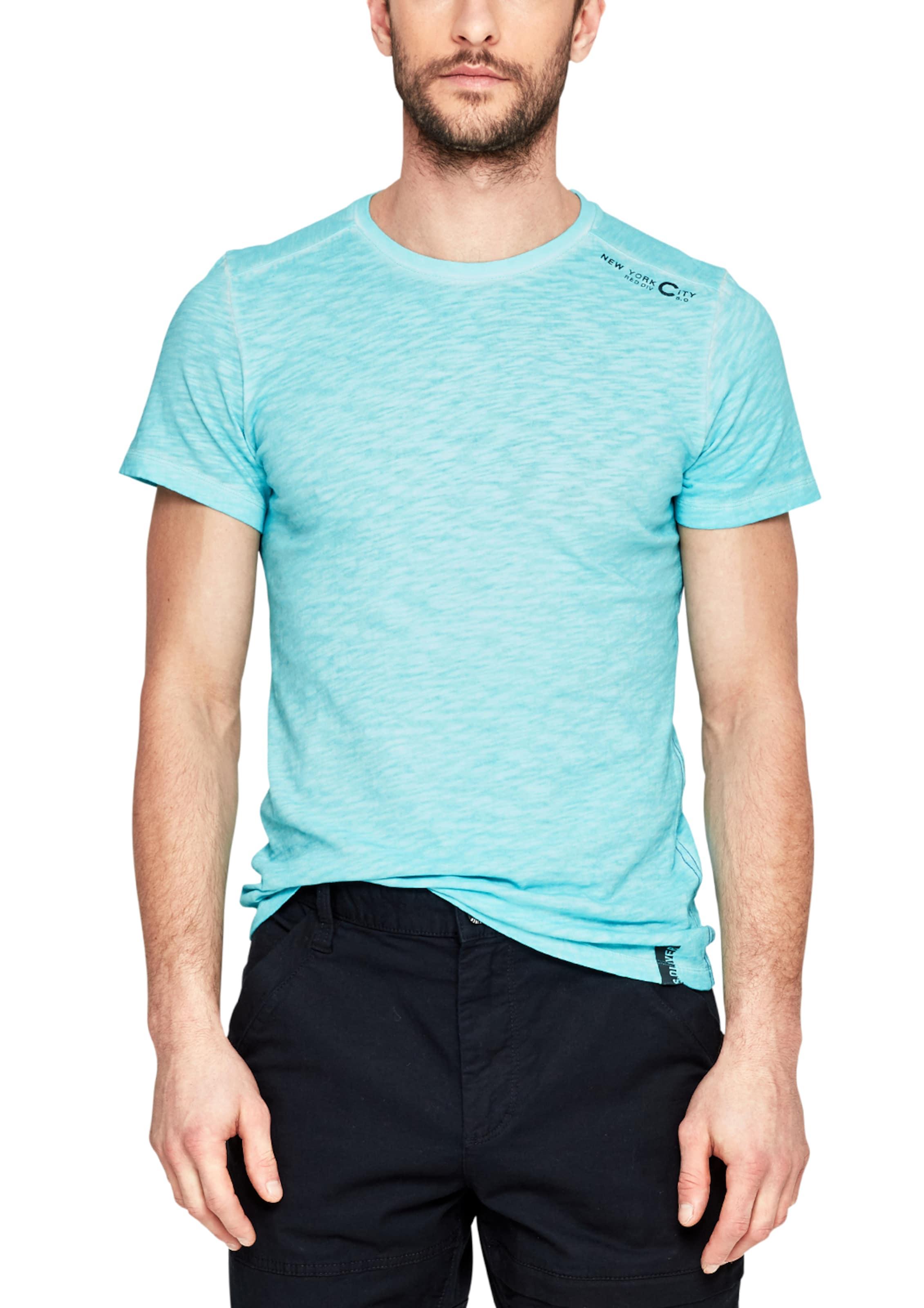 Günstig Kaufen Sammlungen Kaufen Sie Günstig Online Preis s.Oliver RED LABEL Slim: Slub-Shirt in Pigment Dye-Optik Günstig Kaufen Mode-Stil 1qKmRu