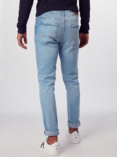 Džinsai 'Slim Fit Jeans' iš Urban Classics , spalva - tamsiai (džinso) mėlyna: Vaizdas iš galinės pusės
