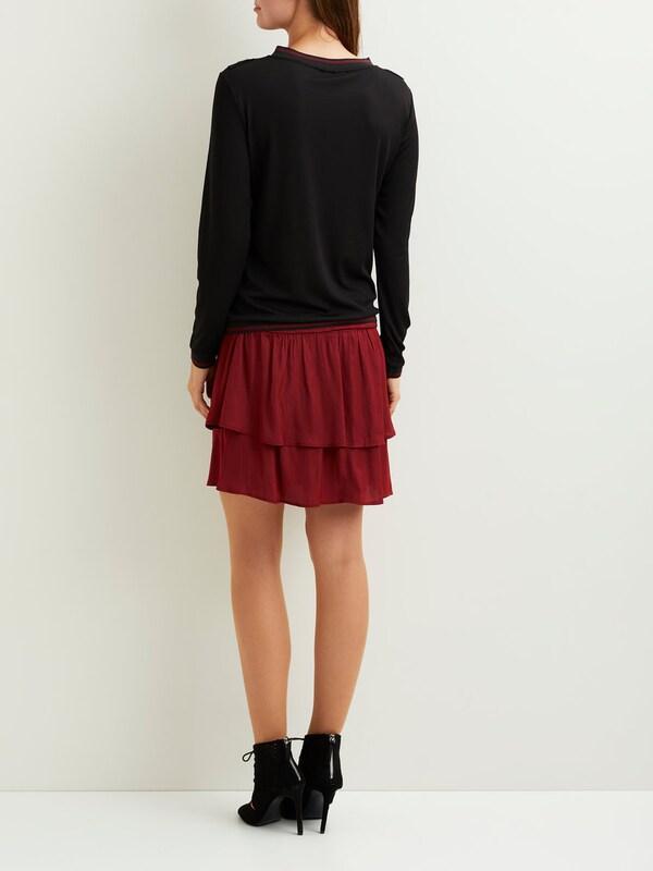 OBJECT Rüschendetail-Pullover