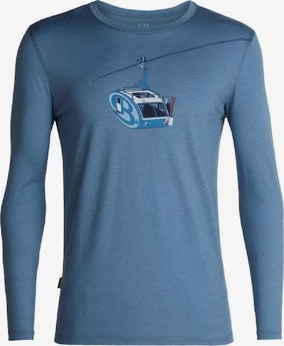Icebreaker Shirt in blau, Produktansicht