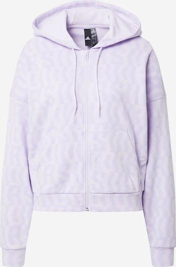 Sportinis džemperis iš ADIDAS PERFORMANCE , spalva - purpurinė, Prekių apžvalga