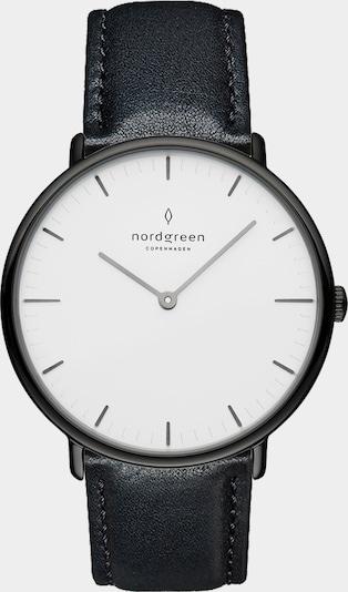 Nordgreen Montre à affichage analogique en noir, Vue avec produit
