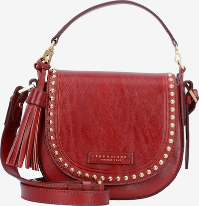 The Bridge 'Rock' Handtasche Leder 21 cm in rot, Produktansicht