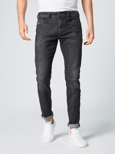 DIESEL Jeans in black denim, Modelansicht