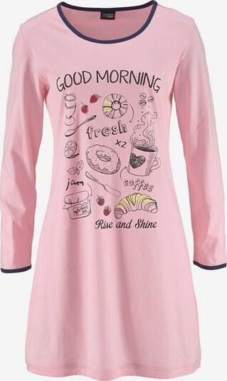 VIVANCE Nachthemden (2 Stck.) in navy / rosa, Produktansicht