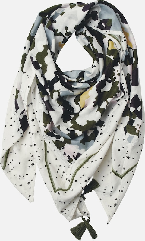 STREET ONE Camouflage Patchwork Tuch