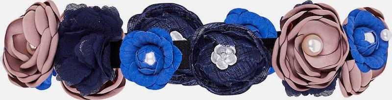 HALLHUBER Stretchgürtel mit 3D-Blüten