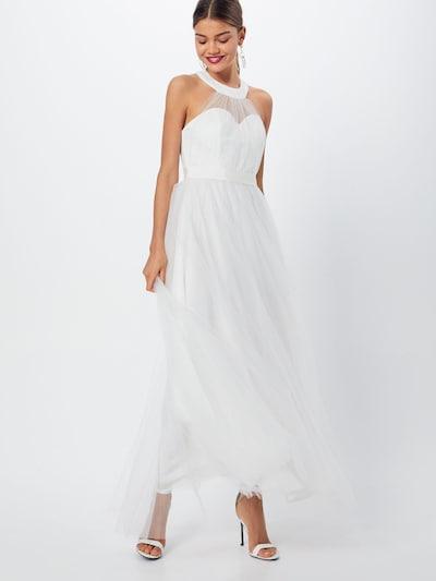 Y.A.S Kleid 'YASWONDER HALTERNECK DRESS' in weiß, Modelansicht