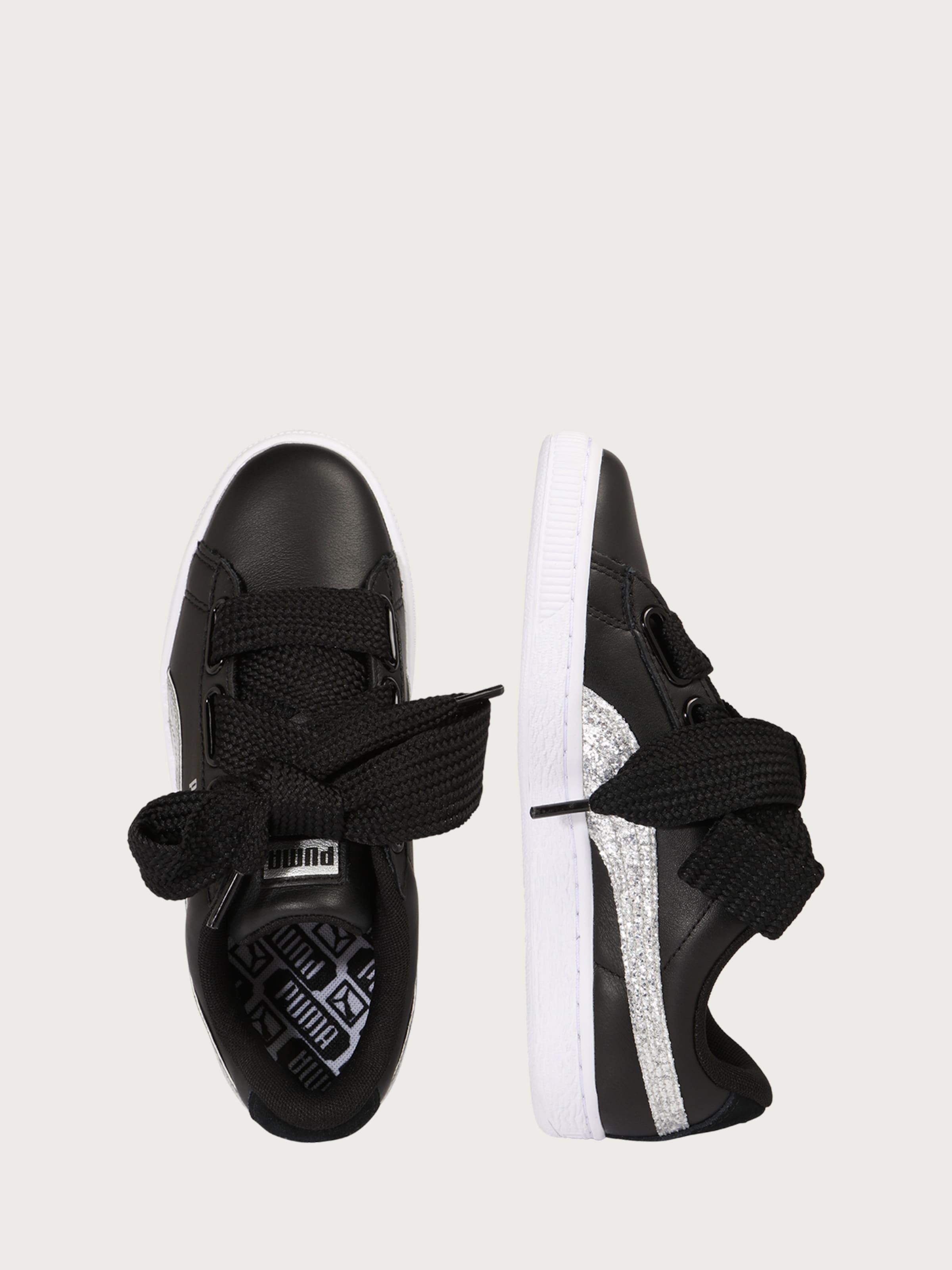 Günstig Kaufen Wahl PUMA Sneaker 'Basket Heart Glitter' Billig Offiziellen Bulk-Design Freies Verschiffen-Spielraum Store xC6dxr5CU6