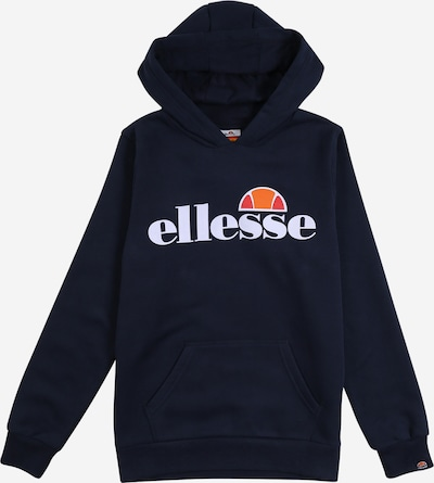 ELLESSE Sweatshirt 'Isobel' in navy / orange / melone / weiß, Produktansicht