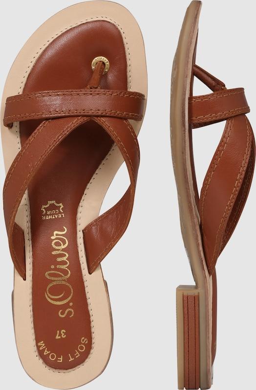 s.Oliver RED LABEL Zehentrennersandale Verschleißfeste billige Schuhe