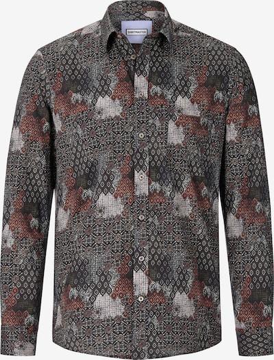 Shirtmaster Chemise 'Rushofcolour' en mélange de couleurs / noir, Vue avec produit