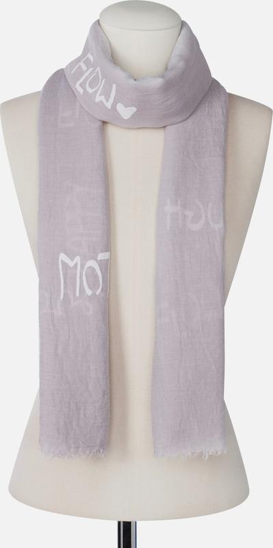 CODELLO Schal mit Schriftzügen