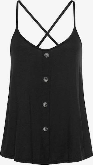 LASCANA Blusentop in schwarz, Produktansicht