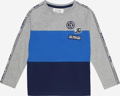 STACCATO Shirt in blau / nachtblau / graumeliert, Produktansicht