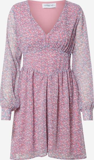 IVYREVEL Večernja haljina 'FLOWY' u plava / roza, Pregled proizvoda