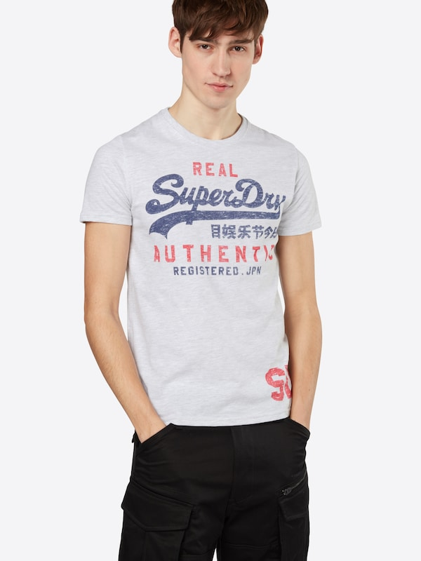 Superdry T-Shirt 'VINTAGE AUTHENTIC DUO TEE'