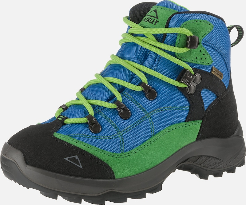 myToys-COLLECTION Outdoorschuhe 'Trek' in blau / limette / hellgrün, Produktansicht