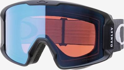 OAKLEY Lunettes de sport 'LINE MINER' en bleu clair / noir / blanc, Vue avec produit