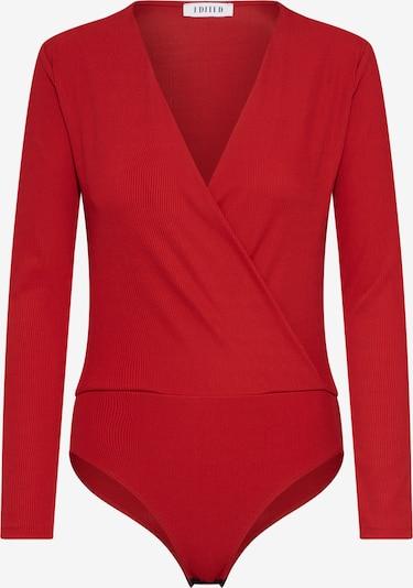 EDITED T-shirt 'Erin' en rouge, Vue avec produit