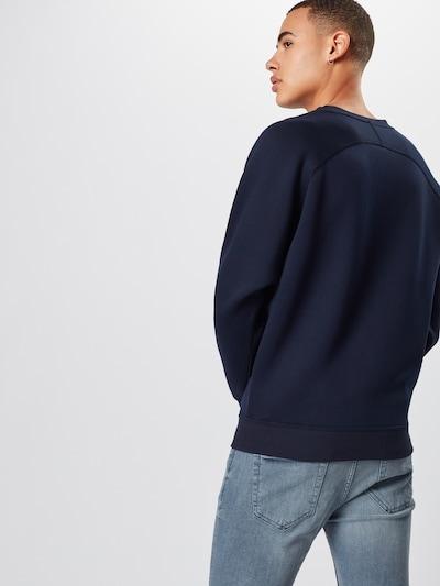 Megztinis be užsegimo iš Urban Classics , spalva - tamsiai mėlyna: Vaizdas iš galinės pusės