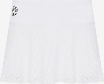 BIDI BADU Athletic Skorts 'Charlie Tech' in White