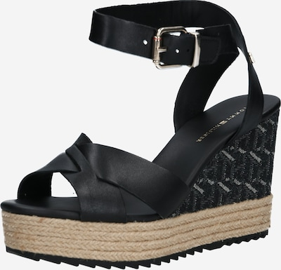 TOMMY HILFIGER Sandale 'Veranice 3A1' in schwarz, Produktansicht