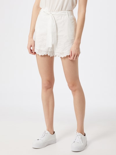ONLY Shorts in weiß, Modelansicht