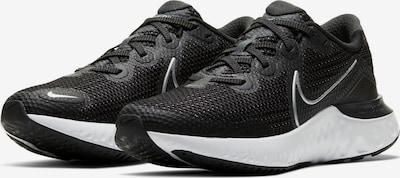 NIKE Chaussure de course 'Renew Run' en noir / blanc, Vue avec produit