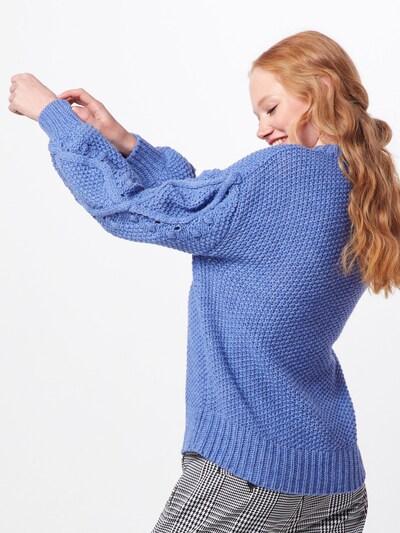 Megztinis iš Rich & Royal , spalva - mėlyna: Vaizdas iš galinės pusės