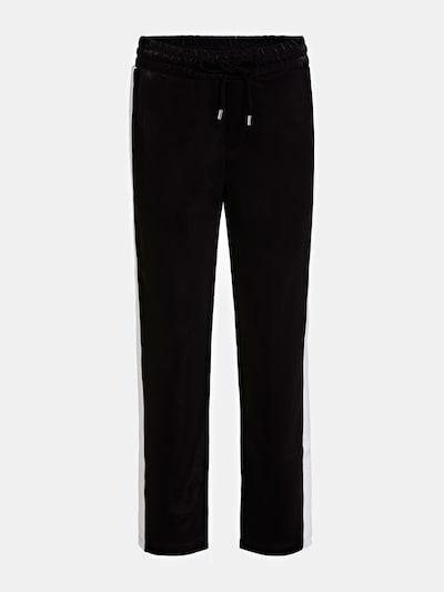 GUESS Hose in schwarz / weiß, Produktansicht