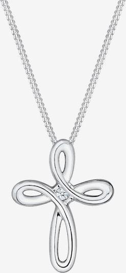 Diamore Ketting 'Kreuz' in de kleur Zilver, Productweergave