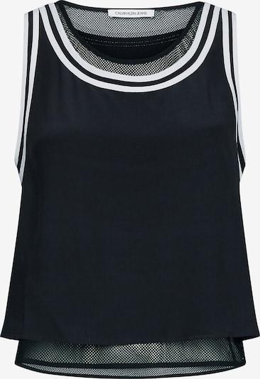 Calvin Klein Jeans Tank Top in schwarz, Produktansicht