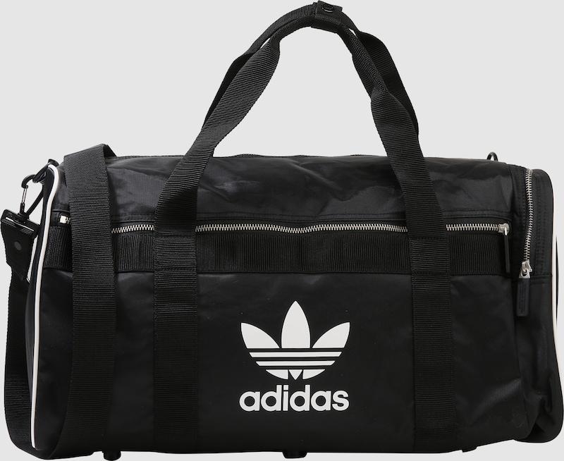 d49ebf6ed4e46 ADIDAS ORIGINALS Sporttasche  DUFFLE L ac  in schwarz   weiß