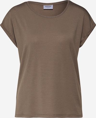 VERO MODA Shirt in de kleur Kaki: Vooraanzicht