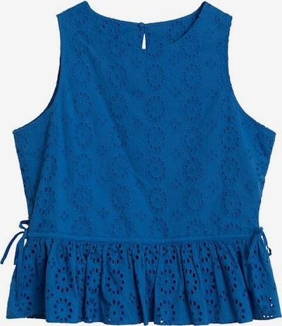 MANGO Top 'Jana' in blau, Produktansicht