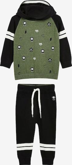 NEXT Jogginganzug in grün / schwarz, Produktansicht