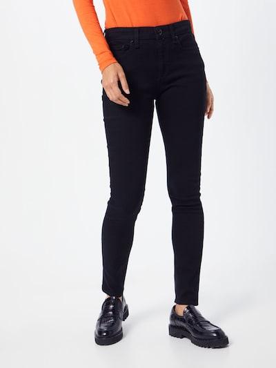rag & bone Jeans 'Cate' in schwarz: Frontalansicht