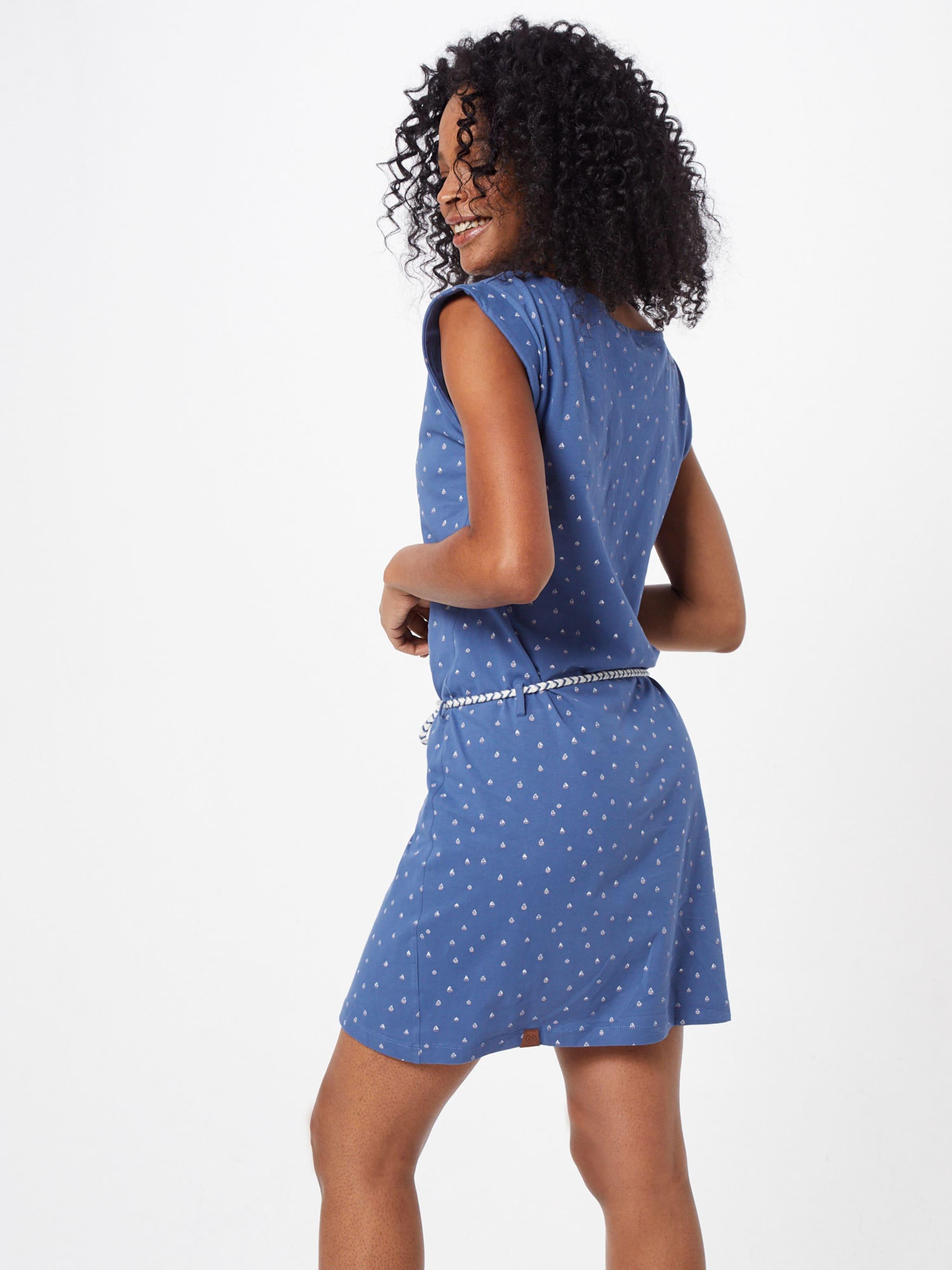 Kleid In Ragwear RoyalblauWeiß Ragwear 'tamy' In 'tamy' Kleid OXZPkui