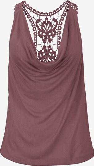LASCANA Bluzka w kolorze bakłażanm, Podgląd produktu